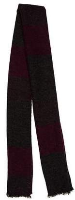 Brunello Cucinelli Patterned Long Scarf