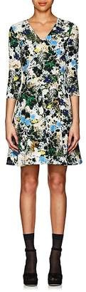 Erdem Women's Domitilla Floral Fit & Flare Dress