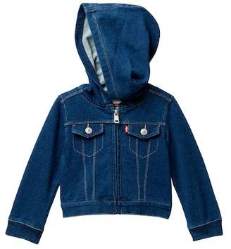 Levi's French Terry Jacket (Baby Girls)