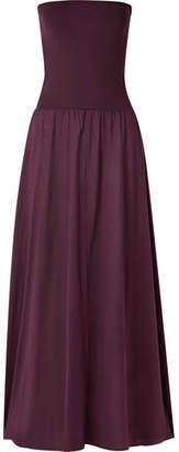 Eres Zephyr Ankara Cotton-jersey Maxi Dress - Grape