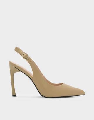 10c8b468d76 Charles   Keith Pointed Slingback Heels