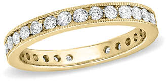 Zales 1/2 CT. T.W. Certified Diamond Eternity Wedding Band in 18K Gold (G/SI2)
