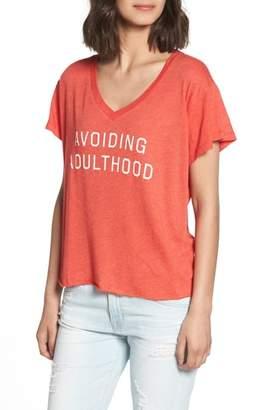 Wildfox Couture Avoiding Adulthood Romeo Tee