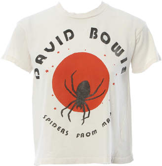 MadeWorn David Bowie Spiders From Mars Crop Tee