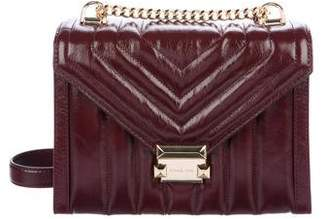 Michael Kors Large Quilted Whitney Bag