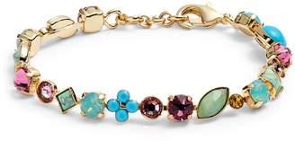Sorrelli Crystal & Cabochon Line Bracelet