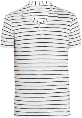 Felix striped cotton polo shirt