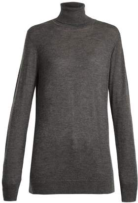 Raey Roll-neck fine-knit cashmere sweater