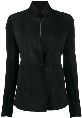 Isaac Sellam Experience fitted leather jacket