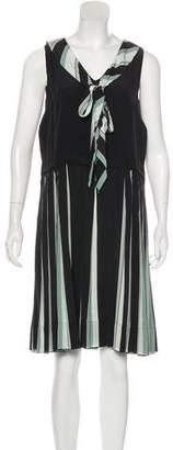 Marc Jacobs Sleeveless Silk Dress