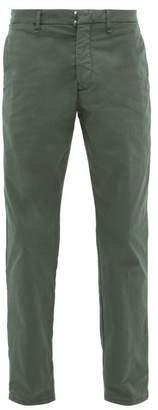 J.w.brine J.W. Brine J.w. Brine - Austin Cotton Blend Herringbone Trousers - Mens - Green