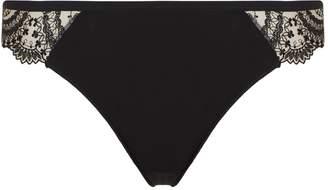 Lejaby Tatoo Lace Thong