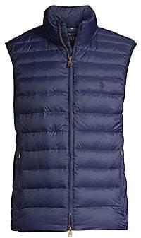Polo Ralph Lauren Men's Packable Quilted Down Vest