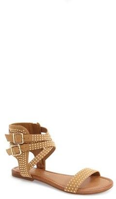 Women's Jessica Simpson 'Karessa' Studded Flat Sandal $78.95 thestylecure.com