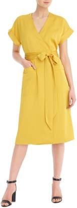 J.Crew Short Sleeve Wrap Dress