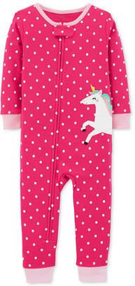 Carter's Baby Girls Unicorn Cotton Pajamas