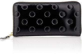 Comme des Garçons Women's Long Zip-Around Wallet $370 thestylecure.com