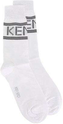 Kenzo logo panel socks $30 thestylecure.com