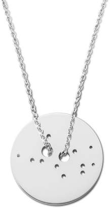 Ekria - Virgo Zodiac Necklace Shiny White Gold