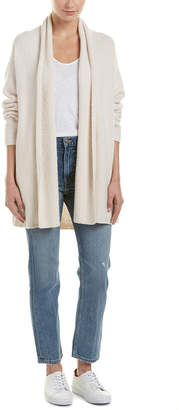Vince Textured Wool-Blend Shawl Cardigan