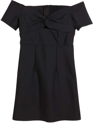Milly Minis Vanessa Sweetheart Off-the-Shoulder Dress, Size 8-16