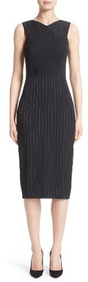 Women's Jason Wu Pinstripe Stretch Dress $1,595 thestylecure.com