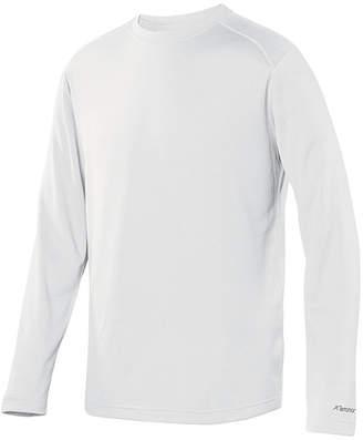 Asstd National Brand Helix Mountain Crew Neck Long Sleeve Thermal Shirt