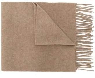Pringle cashmere slim knit scarf