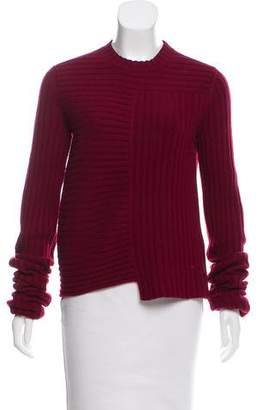 Celine Wool-Cashmere Rib Knit Sweater w/ Tags