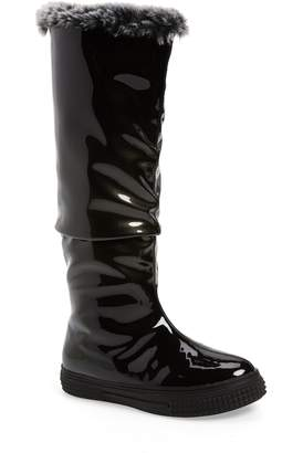 AquaDiva Icon Faux Fur Lined Waterproof Boot