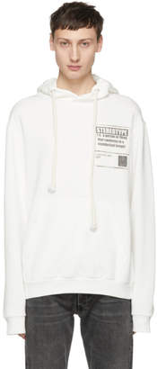 Maison Margiela White Stereotype Hoodie