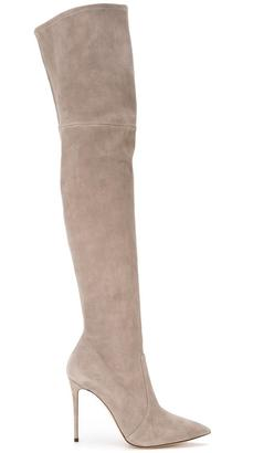 Casadei over-the-knee boots $1,303 thestylecure.com