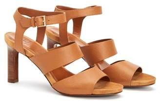 Aquatalia Basha Stacked Heel Sandal
