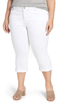Lucky Brand Emma Stretch Crop Jeans (Plus Size)