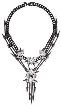 Fallon Crystal Spiked Collar Necklace