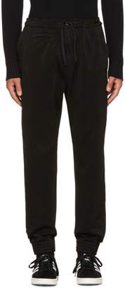 Stone Island Shadow Project Black Tapered Trousers