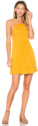 C & C California Dahna Strappy Embroidered Dress $167 thestylecure.com