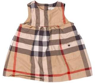 Burberry Girls' Nova Check Flare Dress