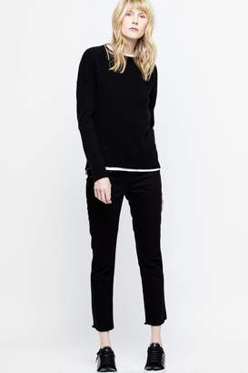 Zadig & Voltaire Cici Patch C Sweater