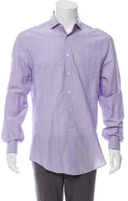 Michael Bastian French Cuff StripeD Shirt