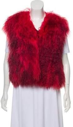 Fur Mongolian Fur Vest
