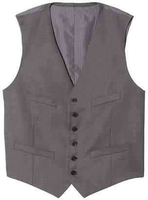Banana Republic Italian Wool Sharkskin Suit Vest