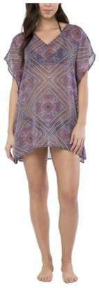 O'Neill Womens' Bali Printed Lightweight Beach Cover Up