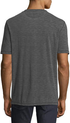 Faherty Men's Short-Sleeve Slub Henley T-Shirt