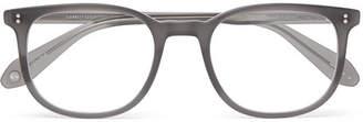 Garrett Leight California Optical - Bentley 51 Square-Frame Matte-Acetate Optical Glasses - Men - Gray