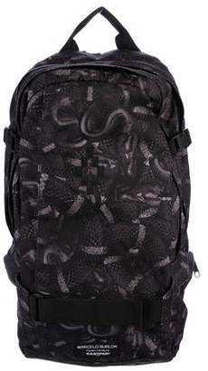 Marcelo Burlon County of Milan Canvas Basher Backpack