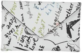 Maison Margiela Margiela Graffiti Print French Wallet