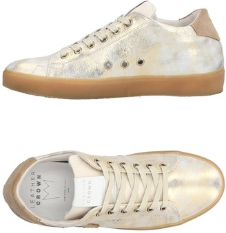 Leather Crown Low-tops & sneakers - Item 11385045LF