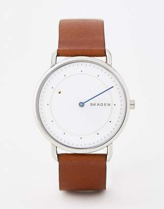 Skagen SKW6487 Horisont leather watch special edition 40mm