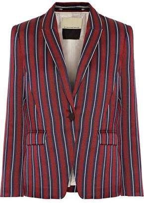 By Malene Birger Dantegas Striped Woven Blazer